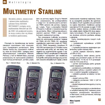 Multimetry STARLINE